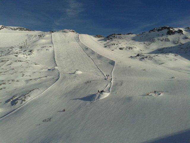 Molltal, na vrhu blizu 3.200 m