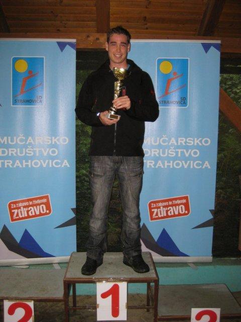 Nejc Bergant - občinski prvak za leto 2017